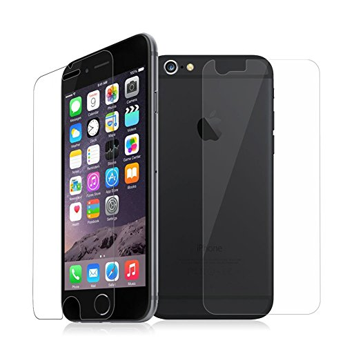 Cables KartTM Front And Back Tempered Glass For IPHONE 6 / 6S  available at amazon for Rs.125