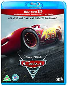 cars 3 blu ray 3d 2017 dvd blu ray. Black Bedroom Furniture Sets. Home Design Ideas