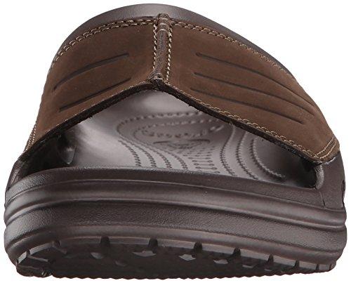 crocs Herren Yukonmesaslide Pantoffeln Braun (Espresso/Espresso)