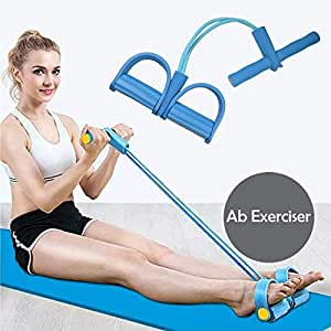 RYLAN Pull Reducer, Waist Reducer Body Shaper Trimmer for Reducing Your Waistline and Burn Off Extra Calories, Arm Exercise, Tummy Fat Burner, Body Building Training, Toning Tube (Multi Color)