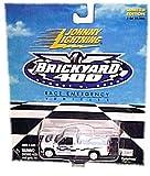 Johnny Lightning - Brickyard 400 (August 5, 2000) - Limited Edition Race Emergency Vehicles - 2000 Chevrolet Silverado (White) Replica by Johnny Lightning