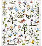 Hobby Design Sticker * Blumen und Zweige Frühling Ostern * Aufkleber 3452330