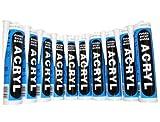 Bau Acryl 10 Stk. Kartuschen - Profiqualität 310ml Fb.weiss Dichtstoff - Dichtmasse - Fugendichtmasse !