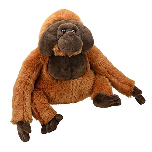 Wild Planet All About Nature-25 cm Orangutan Hâche à la Main, Peluche réaliste, Multicolore (K8237