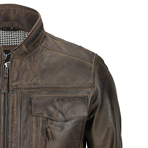 Xposed - Blouson - Homme Washed Brown