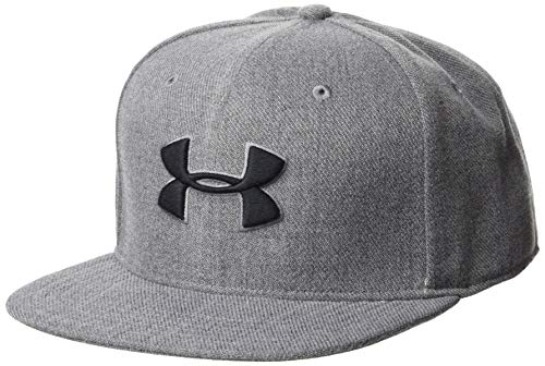 Imagen de under armour men's huddle snapback 2.0 , hombre, gris steel/graphite/black 035 , talla única