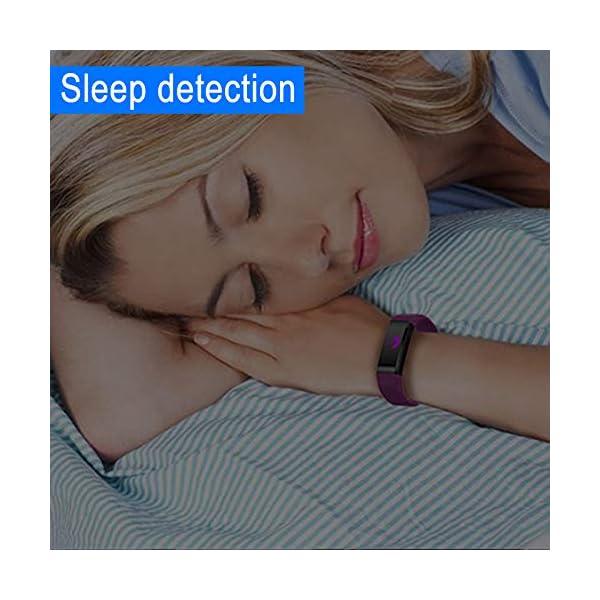 MENGZHEN 1 UNID Y3 Monitor de Actividad del Ritmo cardíaco Pantalla táctil Usable Podómetro Bluetooth Pulsera Inteligente con Monitor de sueño 2
