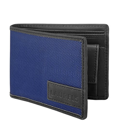 Laurels Blue Men's Wallet (Lw-Clr-0302)