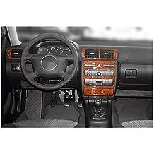 MERIC Decoración de Salpicadero (CD-CA00015) Versión 3D exclusiva, específicamente para el vehículo, 11 Pieza, Color: Carbono