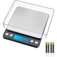 GRIFEMA GA2003 - Balance Numérique de Précision, Balance Cuisine, écran LCD rétro-éclairé, Balance électronique en acier…