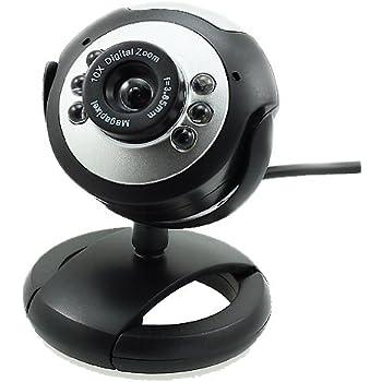 WEBCAM USB 6 LED caméra Web Cam Mic pour ordinateur PC