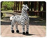 FUYUHAN Giocattolo dei Bambini della Peluche della Zebra della Striscia del Giocattolo farcito Peluche Bianco e Nero dei Bambini per Il Regalo di Compleanno di Natale