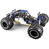 HSP - Coche RC Skeleton Monster 1/5 Gasolina 32cc 4WD R.T.R. - HSP94050-04