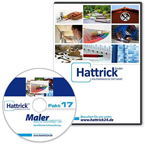 Maler Software Fakt2017 Pro, beliebtes Komplettprodukt mit Leistungstexten, telefonischer Support, läuft unbeschränkt 2016, 2017, 2018..., keine Folgekosten, Produkt-CD und gedrucktes Handbuch