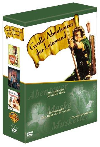 Große Abenteurer der Leinwand [3 DVDs]