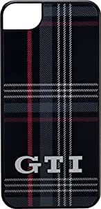 Volkswagen GTI back Clark Coque de protection pour Apple iPhone 5/5S Noir