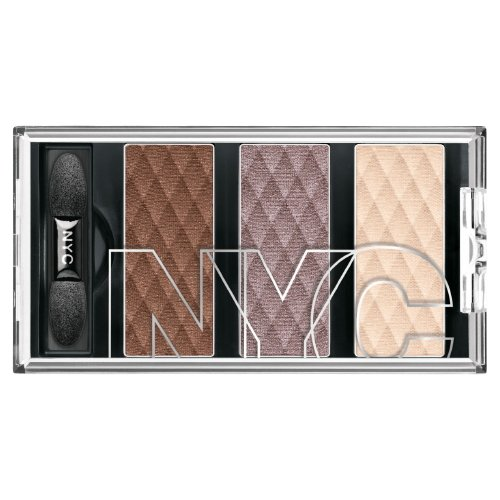 (3 Pack) NYC HD Metro Trio Eyeshadow - Late Night Latte