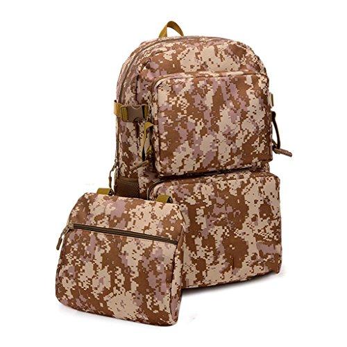 JM-Camo taktische Sportpaket outdoor wandern reisen Rucksack wasserdicht unisex 50L 1#