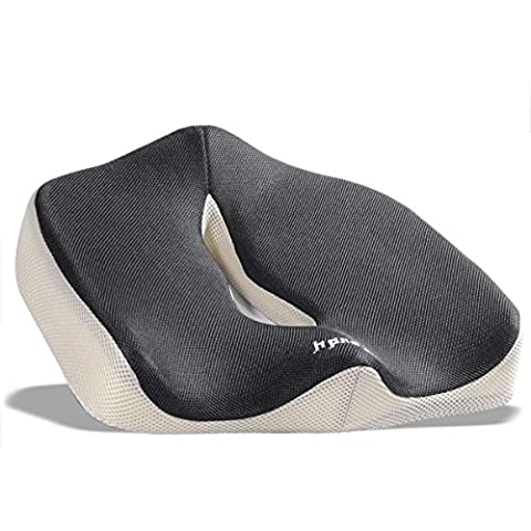 iCoudy Memory Foam Seat Cushion, Seat Cushion, Car Seat Cushion, Chair Cushion, Sciatica Cushion, Prostate Cushion, Low Back Pain Cushion