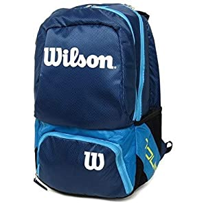 Wilson Tour V Backpack Medium BL, Mochila Unisex Adulto, Azul (Blue), 36x24x45 cm (W x H x L)