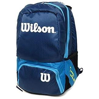 51myIfnV5WL. SS324  - Wilson Tour V Backpack Medium BL, Mochila Unisex Adulto, Azul (Blue), 36x24x45 cm (W x H x L)