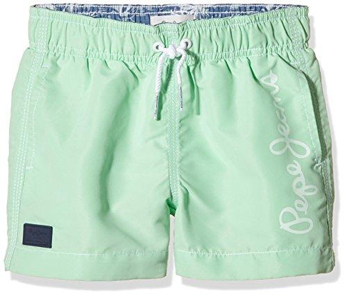 Pepe Jeans GUIDO-Shorts Bambino, Verde, 8 anni