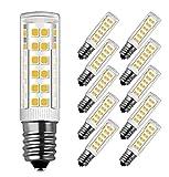 Ampoule LED E14,MENTA, 7W Equivalente à Ampoule Incadesent de 60W, 450Lm,3000K Blanc Chaud, Angle de faisceau de 360 dégrés, Non-dimmable,Lot de 10...