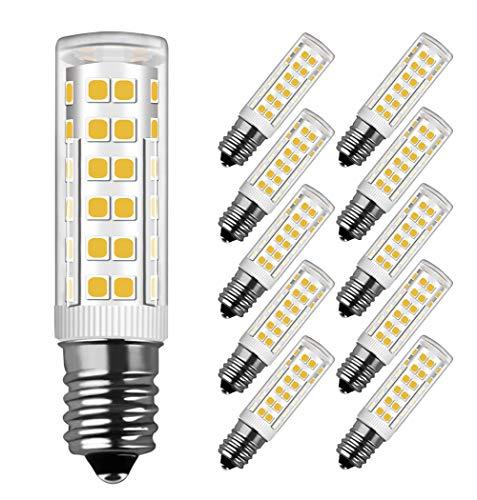 LED Lampe E14, MENTA, 7W Ersatz für 60W Halogen Lampen Warmweiß 3000K, E14 LED Birnen 450lm AC220-240V, Globaler 360° Abstrahlwinkel, 10er Pack