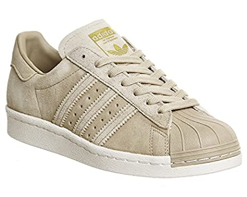 adidas Superstar 80s chaussures 10,0 khaki/gold