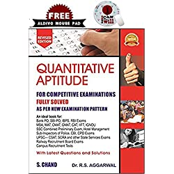 R S Aggarwal Quantitative Aptitude ( Get Free ALDIVO Mouse pad Worth Rs. 199 )