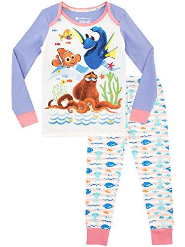 Disney Mädchen Findet Nemo Schlafanzug Slim Fit Mehrfarbig 98
