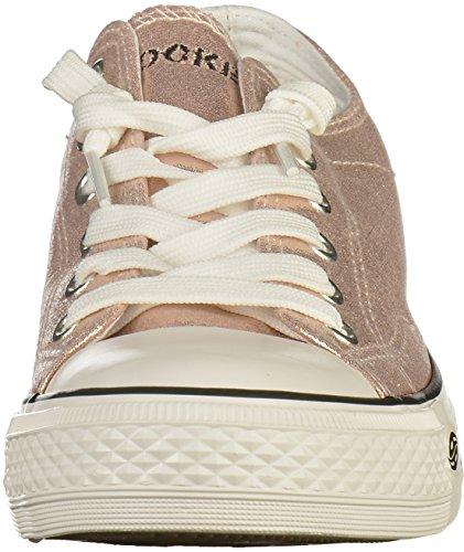 Dockers by Gerli 38ay662, Sneakers Basses Homme Rose (Rosa 760)