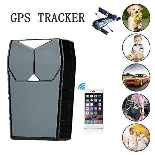 Hangang GPS Tracker Auto Peilsender Personen und Fahrzeugortung GPS Sender Magnetischer GPS Locator (CS12001) (Alarmanlage Mit Gps-tracking)