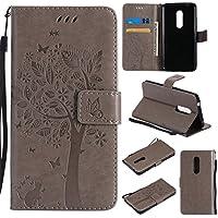 Cozy Hut ZTE AXON 7 Hülle Grau im Retro Wallet Design, ZTE AXON 7 Hülle Leadertasche Premium Lederhülle Flip Case... preisvergleich bei billige-tabletten.eu