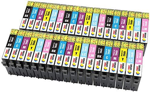 TONER EXPERTE® 36 XL Druckerpatronen kompatibel für Epson T0487 Stylus Photo R300 R220 RX620 R340 RX500 RX600 R320 RX640 R200 R330 R350 RX300 | hohe Kapazität (Drucker Epson R200)