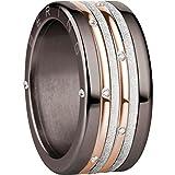 BERING Schmuck Damen Ring Set Kombinationsring Arctic Symphony Collection asc322, Größe:8