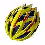 JESSIEKERVIN YY3 Schwinn Thrasher Casco/Casco de Bicicleta Adulto con diseño Ajustable de Ajuste Dual/Hombres y Mujeres Adultos para Montar al Aire Libre (Color : Yellow)