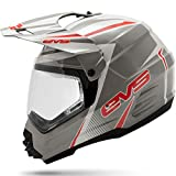 Best Dual Sport Helmet - White/Red , X-Small : EVS Sports T5 Dual Review