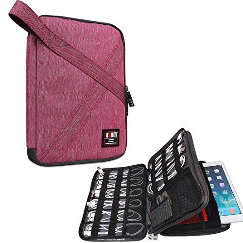 bubm-double-layers-handy-travel-gadget-organiser-electronics-accessories-bag-for-ipad-and-tablet-fit