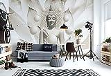 Wallsticker Warehouse Buddha Zen Kugeln Blume Fototapete - Tapete - Fotomural - Mural Wandbild - (3179WM) - XL - 208cm x 146cm - VLIES (EasyInstall) - 2 Pieces