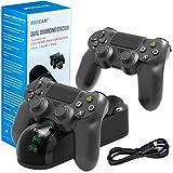 Chargeur de contrôleur de PS4, Manette DualShock 4USB Station de recharge Dock pour Sony PlayStation 4/PS4fin/PS4Pro Controller