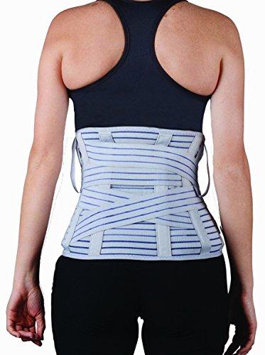Faja lumbar Soles - Soporte posterior lumbar - Corsé ajustable y transpirable