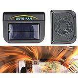 Takestop® Ventilador extractor de aire con energía solar refrigeración aire CONVOGLIATORE camiones coche para caravana