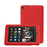 "Bepack Fire 7 2015 Funda, Silicona peso Ligero Durable Cover Case Potectora para Amazon Fire 7 Kids Edition Tablet (7 ""pantalla 5th generación)"