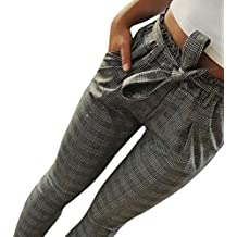 Pantalons Femme Grande Taille Haute Pas Cher Elastique Mode Chic Slim  Casual ÉTé Crayon Legging Pants 6f460e849806
