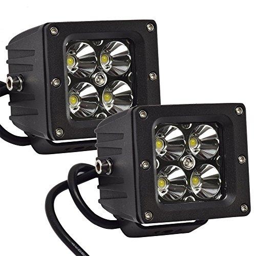 """Preisvergleich Produktbild Eyourlife Auto Beleuchtung LED Arbeitsleuchte Offroad Scheinwerfer 20W 3"""" Spot Arbeitsscheinwerfer Arbeitsbeleuchtung PKW Jeep SUV ATV -2 Stk."""