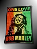 TBG ÉVASION Drapeau BOB-Marley - TENTURE Murale Rasta - JAMAÏQUE - Reggae - Roots - Rastafari France ''
