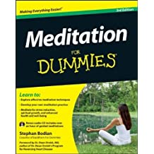 Meditation For Dummies by Bodian, Stephan (2012) Paperback