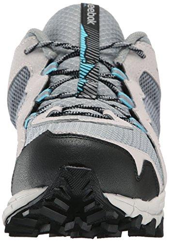 Reebok Trailgrip Rs 4.0 Chaussure de course Flat Grey / Steel / Neon Blue / Black