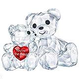 Swarovski Kris Bär - You Are The Best Figurine, Cristal, Claro 3,3 x 4,9 x 2,9 cm
